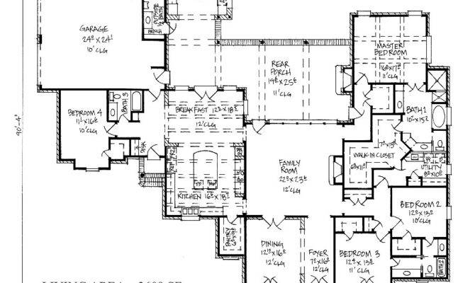 Country Kitchen House Plans Homes Floor