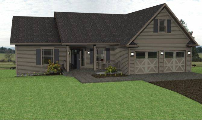 Country Lake House Plan Ranch Plans
