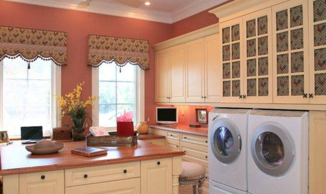 Country Laundry Room Decorating Ideas Layouts House Plans 84503