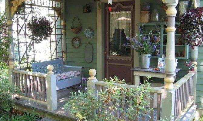 Country Porch Front Pinterest