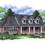 Country Southern House Plans Design