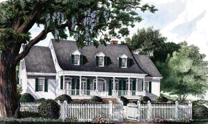 Country Southern Traditional House Plan