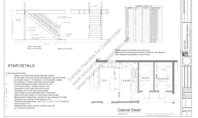 Country Story Porch House Plan Blueprints Construction