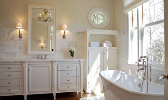 Country Style Bathroom Decorating Ideas Design Pinterest