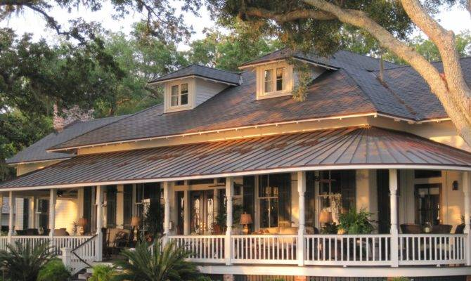 Country Style Homes Wrap Around Porch Creative Home