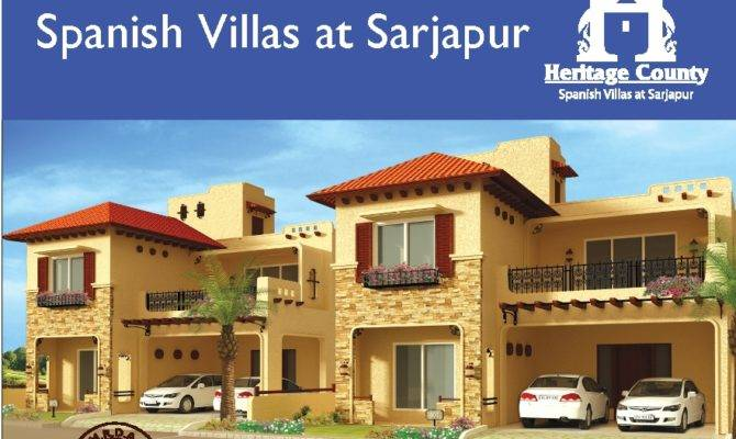 County Spanish Villas Sarjapur Heritage