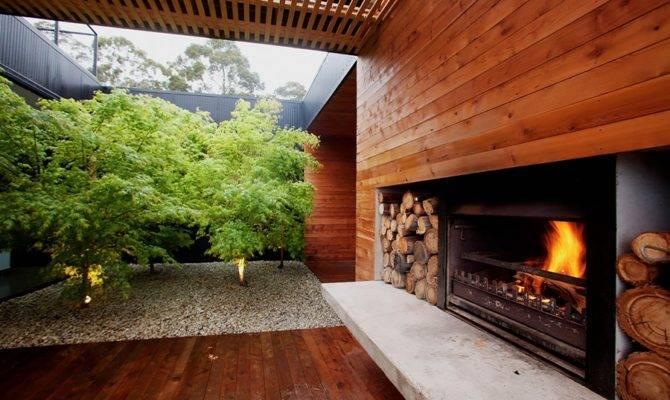 Courtyard Decorating Ideas Modern Gardens