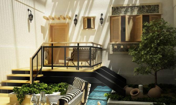 Courtyard Design Landscaping Ideas