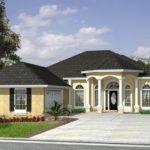 Courtyard Garage Basement Beach House Plan Alp