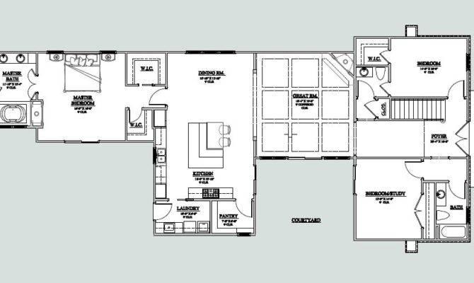 Courtyard Homes Floor Plans Home Design