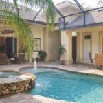 Courtyard House Plans Pool Home Design Style