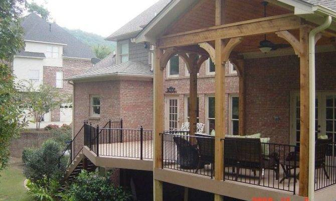Covered Deck Open Porch Side Porches
