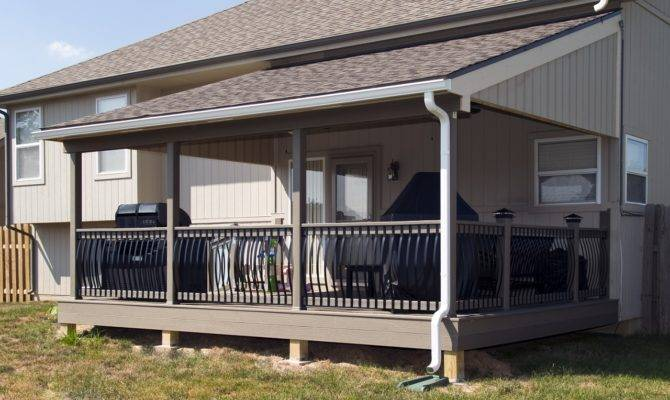 Covered Back Deck Ideas Inspiration
