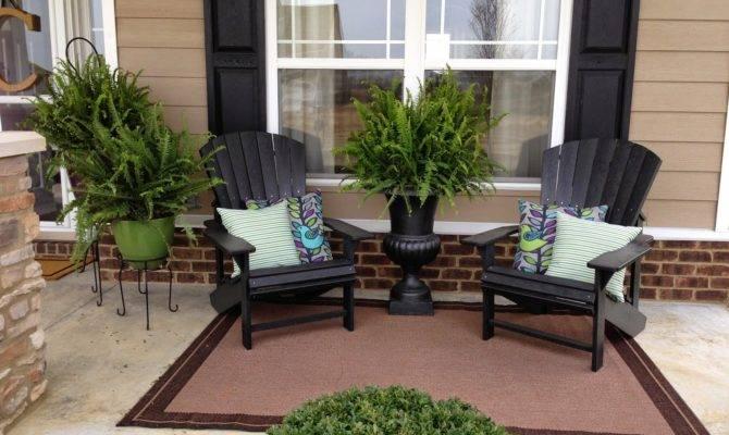 Covered Front Porch Decorating Ideas Bistrodre