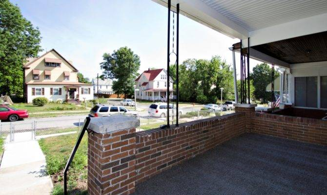 Covered Front Porch Dominion Management