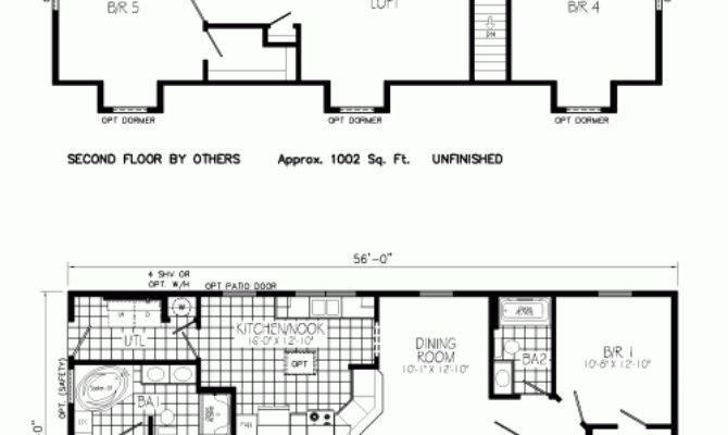 Covington Mannorwood Homes Cape Cod Floorplan