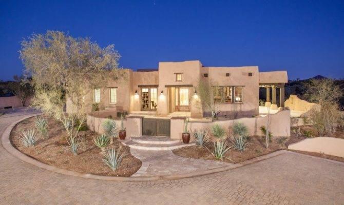 Cozy Adobe Style Desert Homes Architecture Pinterest