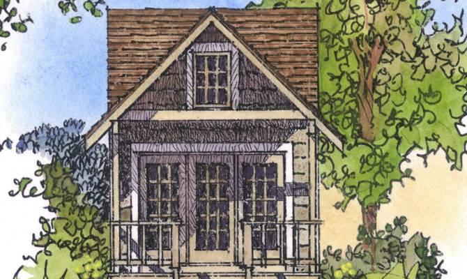 Cozy Cottage Retreat Architectural Designs