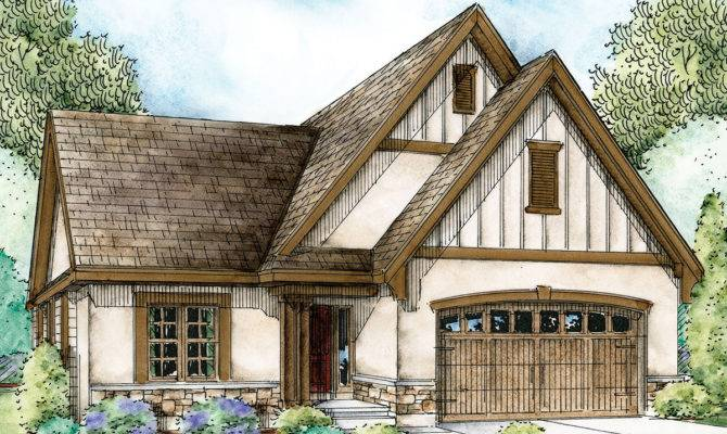 Cozy European Cottage Architectural Designs