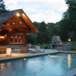 Cozy Pool House Pergola Pools Home