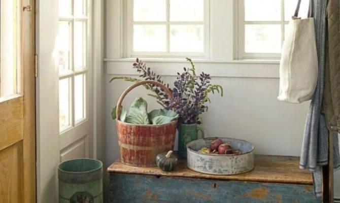 Cozy Simple Farmhouse Entryway Cor Ideas Digsdigs