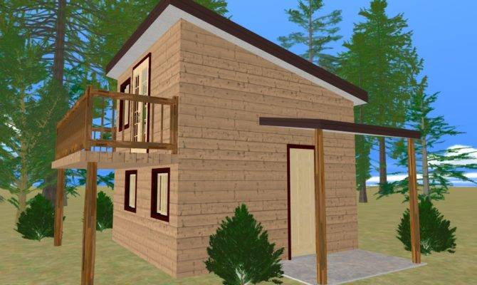 Cozy Small House Cube Home Plans