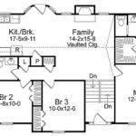 Cozy Split Level House Plan Architectural