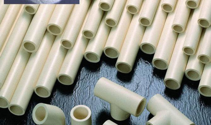 Cpvc Resin Hot Cold Water Pipes