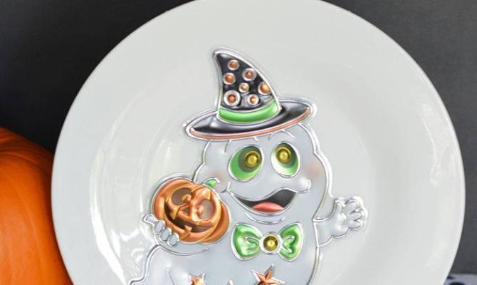 Craft Create Cook Diy Halloween Plates