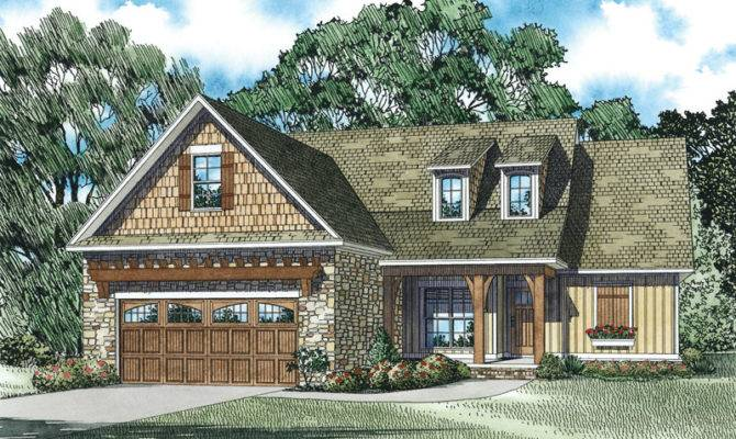 Crafts House Plan Front Home Plans More