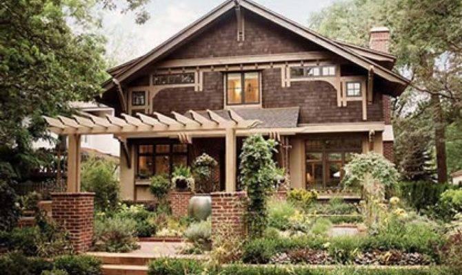 Craftsman Bungalow Arts Crafts House Plans