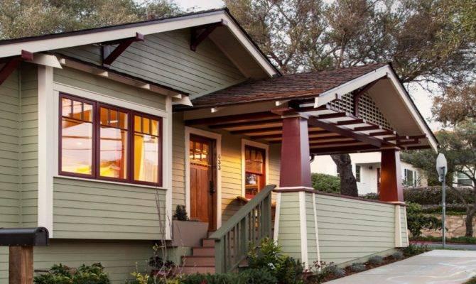 Craftsman Bungalow Front Porches Style Columns