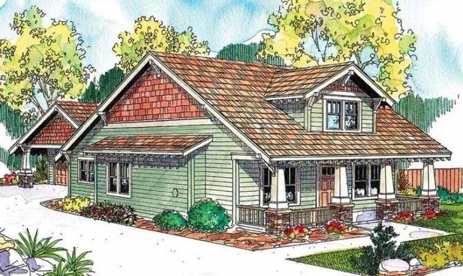 Craftsman Bungalow House Plan Hwepl Very Similar