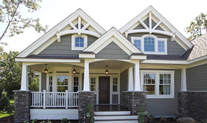 Craftsman Bungalow House Plans Lodge Style