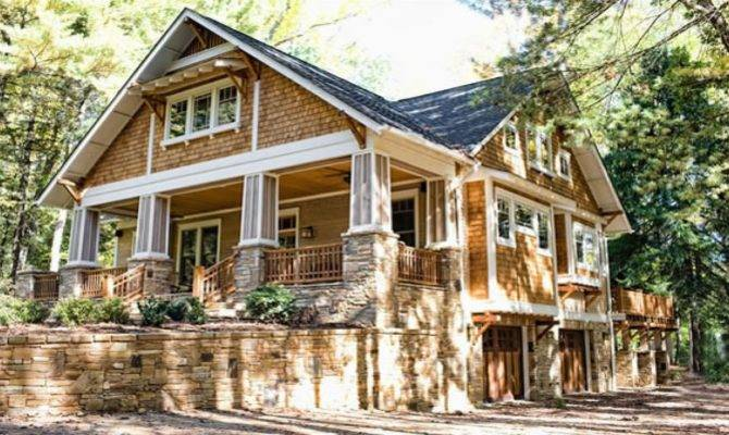 Craftsman Bungalow Style Homes Cottage