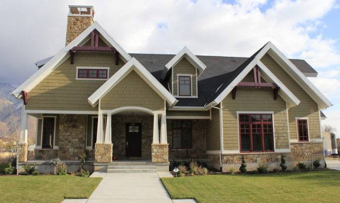 Craftsman Exterior Joe Carrick Design Custom Home