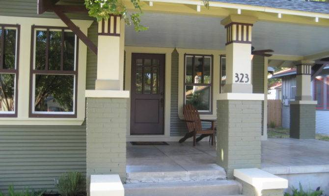 Craftsman Front Porch Traditional San Diego