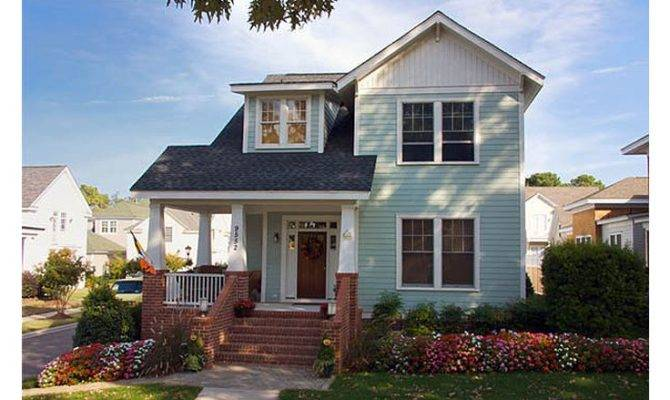 Craftsman Home Plans Two Story House Plan