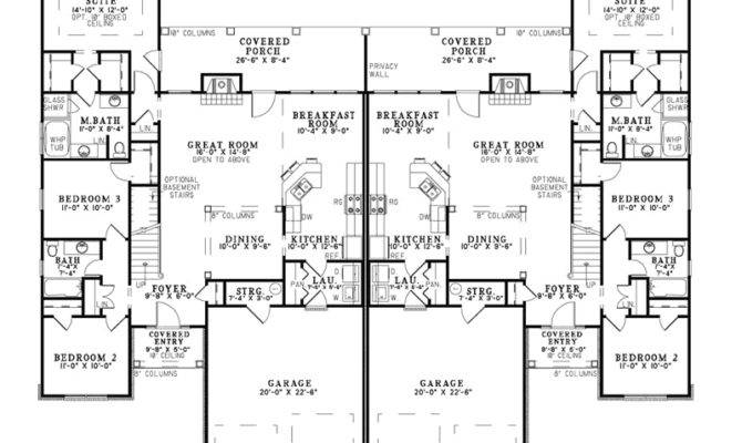 Craftsman House Plan First Floor Plans More