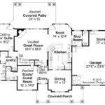 Craftsman House Plan Tillamook Floor