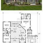 Craftsman House Plan Total Living Area