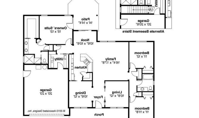 Craftsman House Plans Adrian Associated Designs