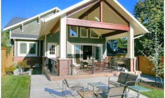 Craftsman House Plans Back Porch