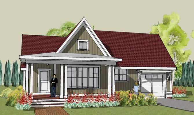 Craftsman House Plans Bungalow Home Designs Modern Open Floor