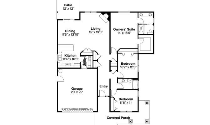 Craftsman House Plans Carlton Associated Designs