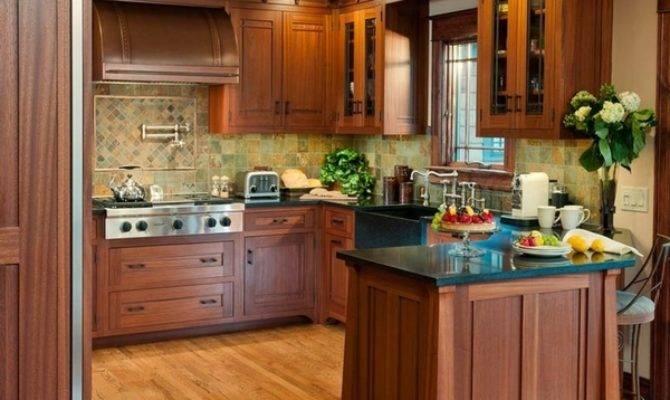 Craftsman Kitchen Design Typical