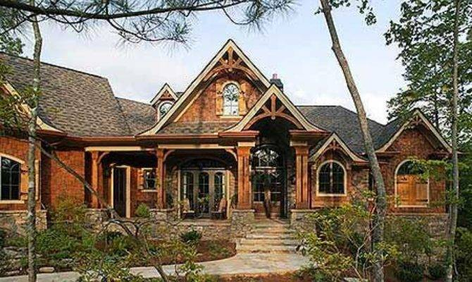 Craftsman Mountain Cottage House Plans Style