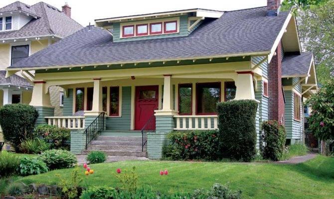 Craftsman Neighborhood Portland Oregon Old House