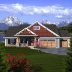 Craftsman Ranch House Plan Plans