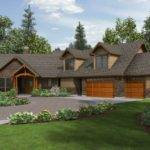 Craftsman Ranch House Plans Walkout Basement